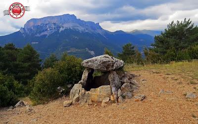 Dolmen de Tella, Huesca, España