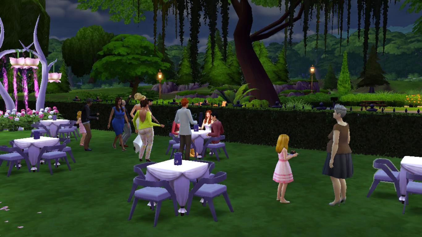 sims 4 wedding