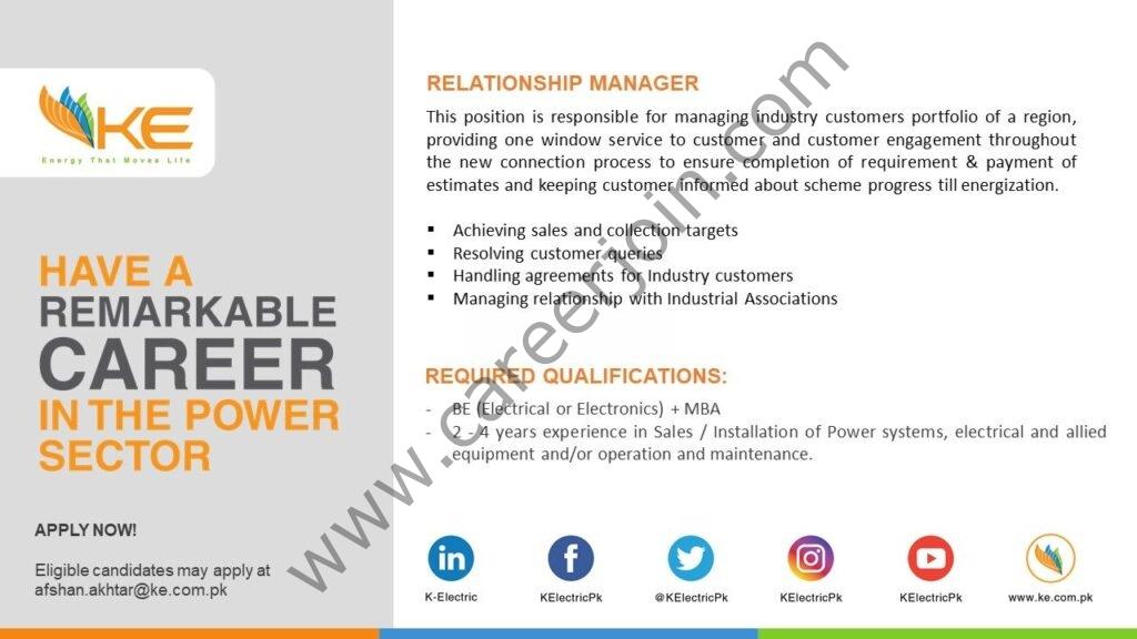 afshan.akhtar@ke.com.pk - K Electric Jobs 2021 in Pakistan