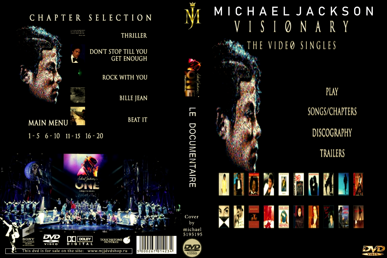 Visionary the video singles