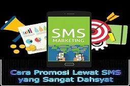 Teknik Promosi Blog Lewat SMS Yang Sangat Efektif
