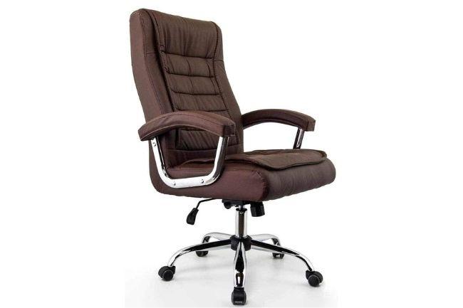 Cadeira Escritório Monique Marrom