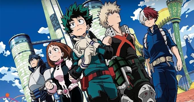 Resenha anime Boku no Hero Academia - indicação de anime de super-heróis.
