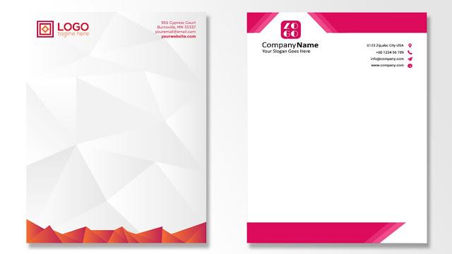 Buat Kop Surat Plus Logo