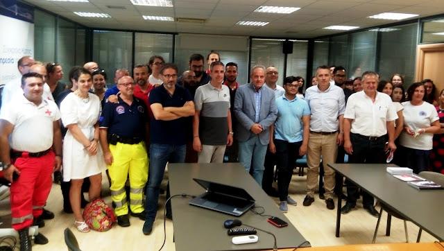 Ευρωπαίοι εθελοντές Πολιτικής Προστασίας επισκέφθηκαν την Αποκεντρωμένη Διοίκηση