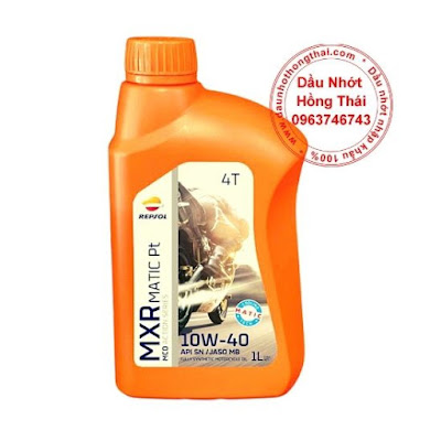 Dầu nhớt Repsol MXR Platinum 10W40 SN/MA2 Fully Synthetic