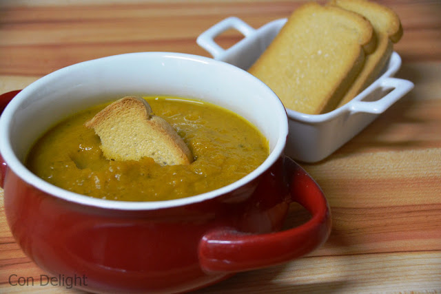 מרק ירקות כתומים Orange vegetable soup