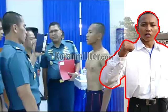 VIRAL Calon Prajurit TNI AL Lantunkan Ayat Alquran Saat Seleksi, Ini Identitasnya