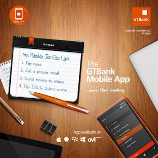 Gtbank mobile app