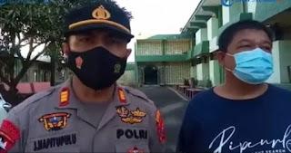 Kapolsek Percut Sei Tuan Beri Motivasi Kepada Atlit Forki Sumut Akan Berlaga di PON Papua