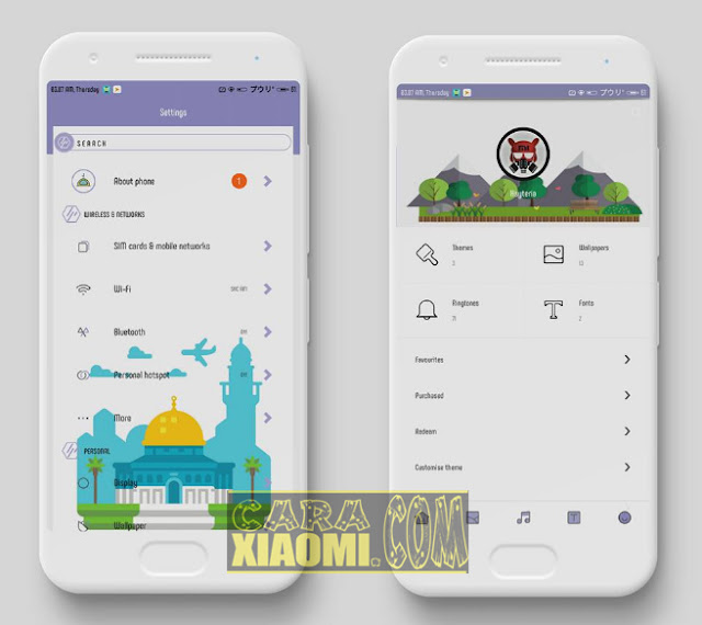 Tema MIUI Xiaomi Ramadhan Flat Light Mtz For Redmi V9