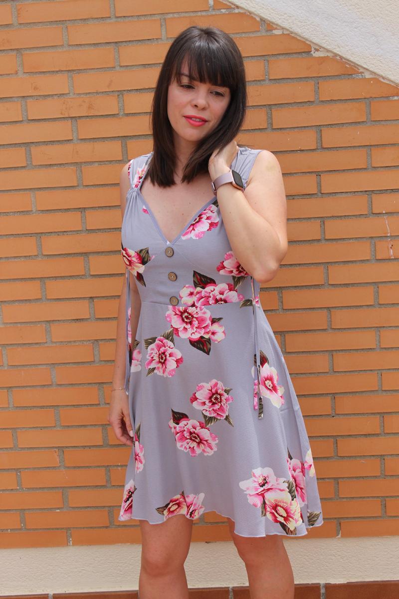 Vestido flores para verano