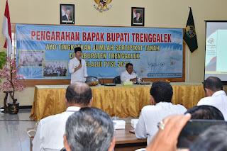 Ayo!!! Tingkatkan Jumlah Sertifikat Tanah di Kabupaten Trenggalek