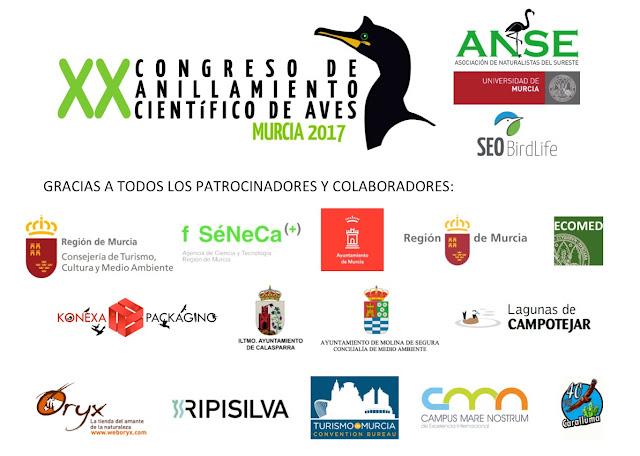 XX Congreso de Anillamiento Científico de Aves.