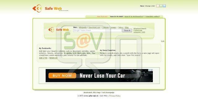 Safe-web.tk (Hijacker)