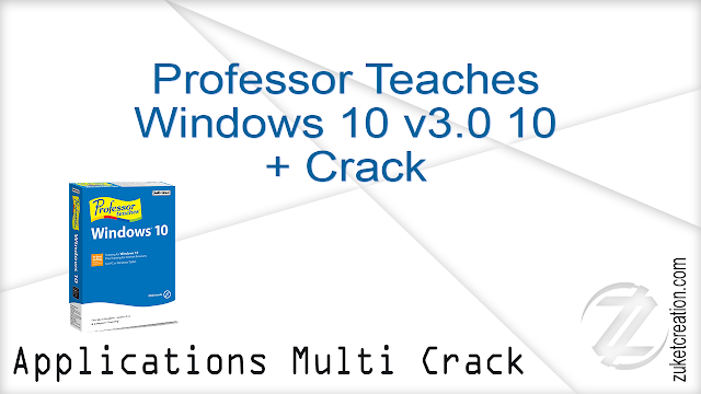 Professor Teaches Windows 10 v3.0 10 + Crack