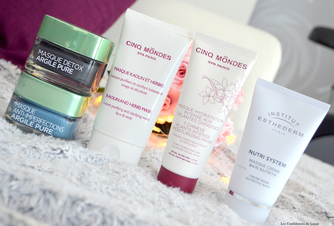 masque beaute - routine beaute - masques nourrissants - masques purifiants - acne - boutons - imperfections - peau deshydratee