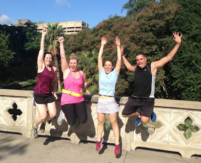 River City Run...5K jog tour of San Antonio
