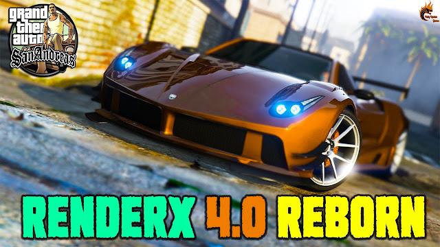 GTA San Andreas Renderx 4.0 Reborn Low Pc Graphics