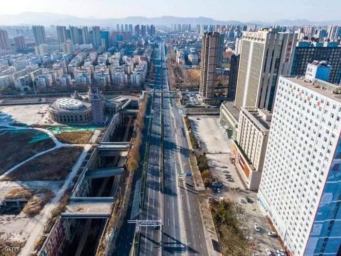 شيجياتشوانغ كما بدت من أعلى  أكبر تفش لكورونا منذ شهور