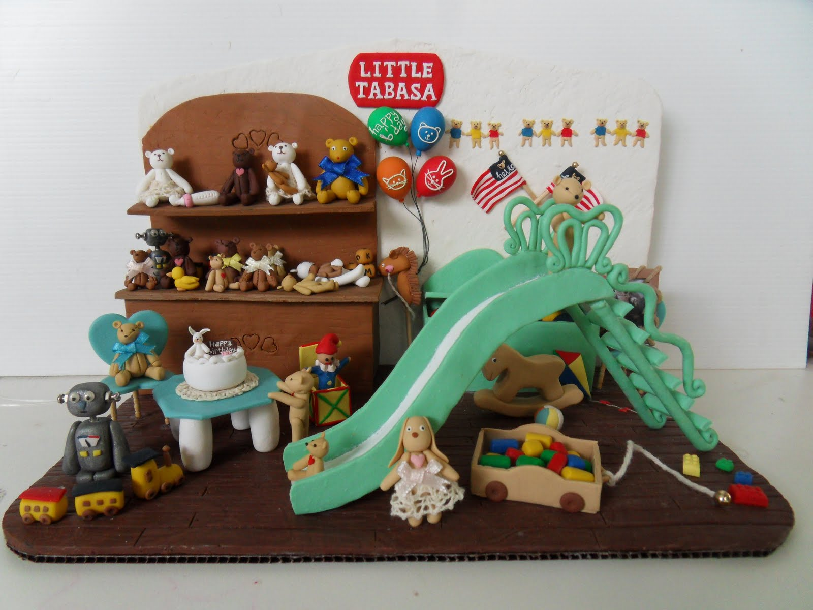 Sculpey clay projects