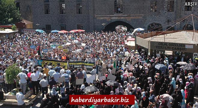 Diyarbakır'da Arakan'daki katliamlar lanetlenecek