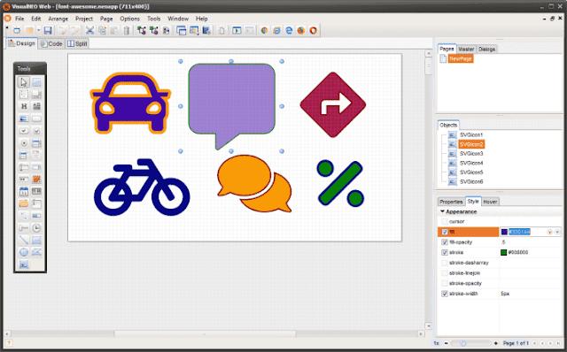 Screenshot VisualNEO Web 19.9.16 Full Version