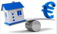 La valorización del la casa como terreno