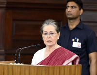 Sonia Gandhi Elected Leader Of New Congress Lawmakers
