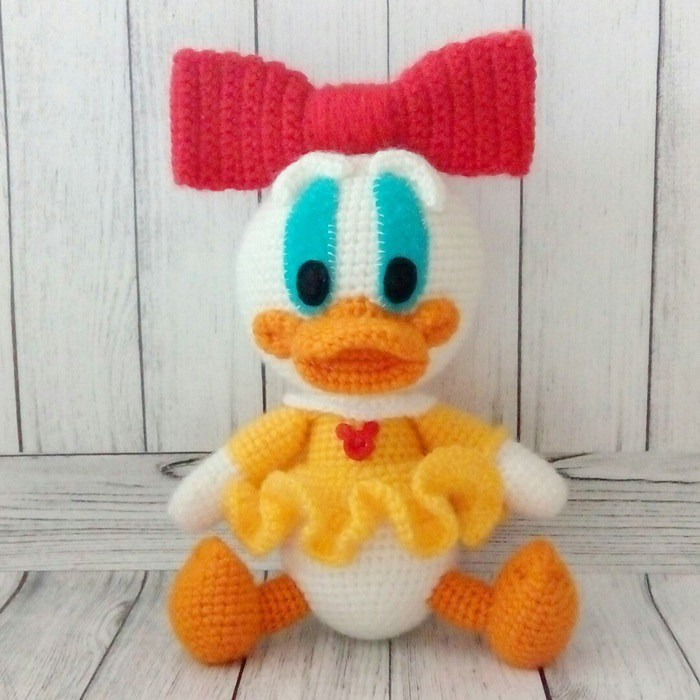Webby Duck amigurumi pattern - Amigurumi Today | 700x700