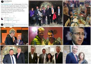 (ΦΩΤΟ): Τα… παραλειπόμενα από την επίσκεψη του πρέσβη των ΗΠΑ Τζόφρι Πάιατ στα Γιάννενα