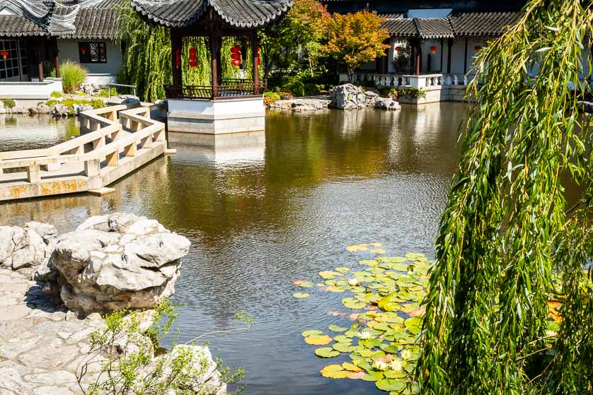 Lan Yuan, Dunedin Chinese Garden, Dunedin, New Zealand.