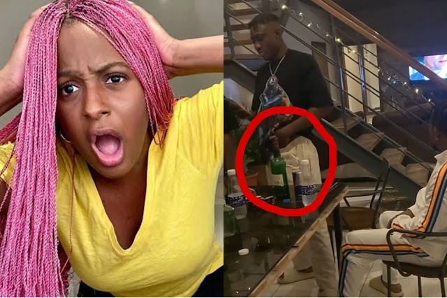 See What Zlatan Ibile was Captured on Camera Doing, Hours After He was Vindicated in the Scandal Between Him and Cuppy