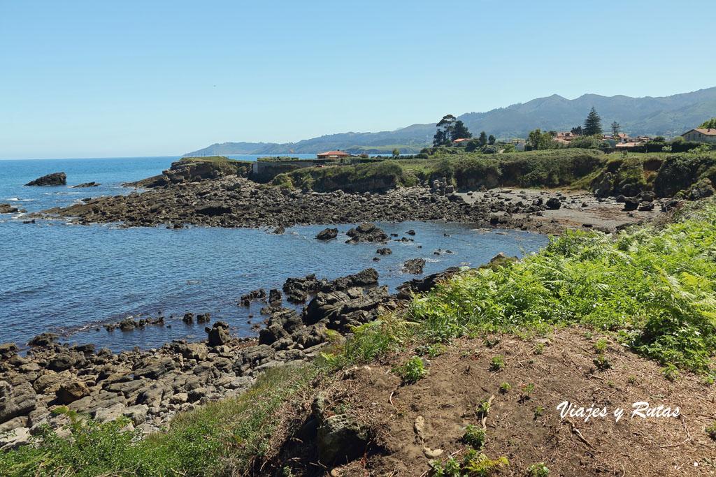 Senda costera playa de la Griega - La Isla (Asturias)