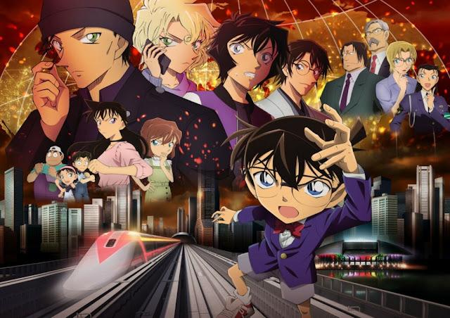 Detective Conan: The Scarlet Bullet obtiene ganancias de 65 millones de dólares