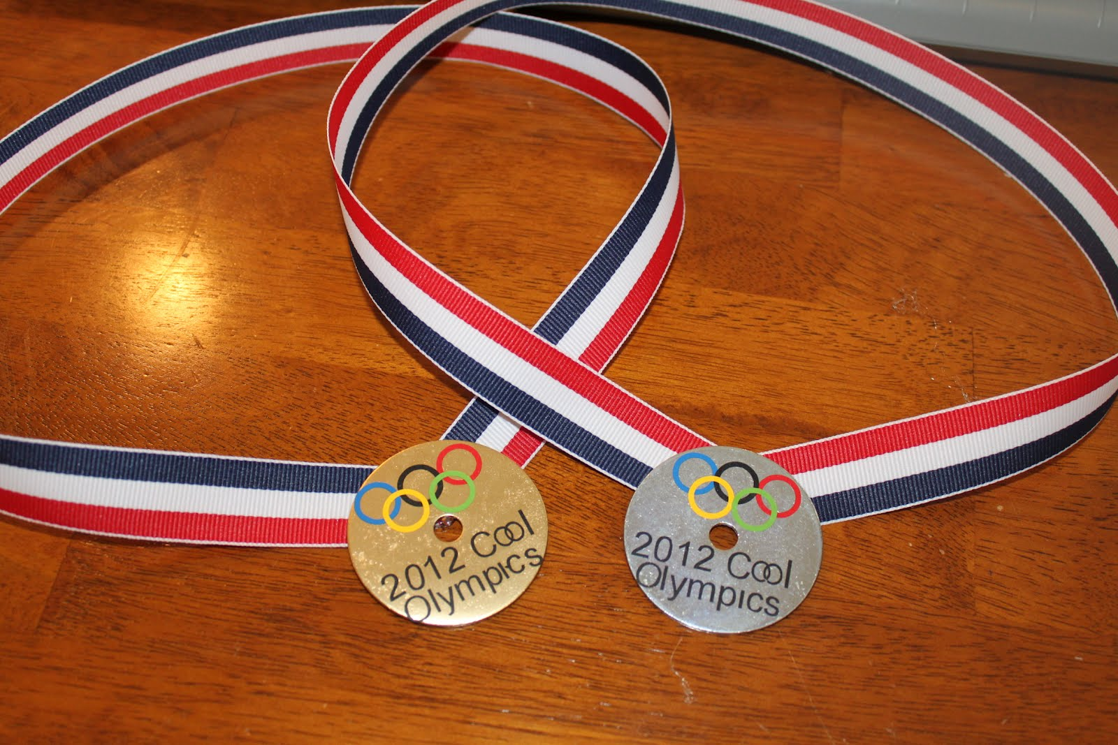 Olympics Party Idea: DIY Olympic Medals • Keeping it Simple