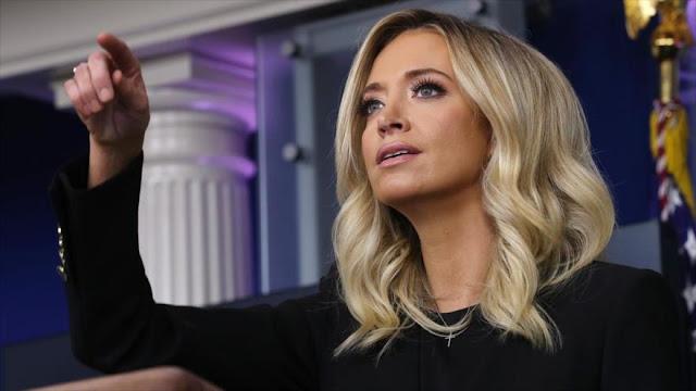 """Nueva portavoz del Gobierno de Trump promete """"nunca"""" mentir"""