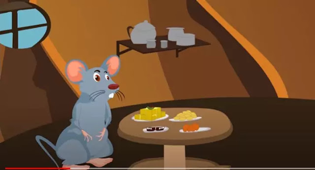 The Hungry Mouse English Story for kids