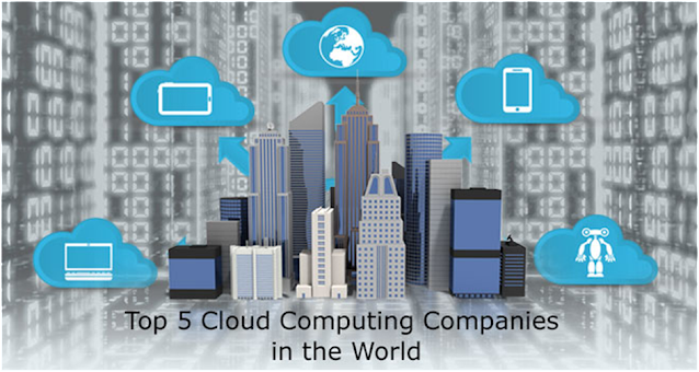 Top 5 Cloud Computing Companies in the World
