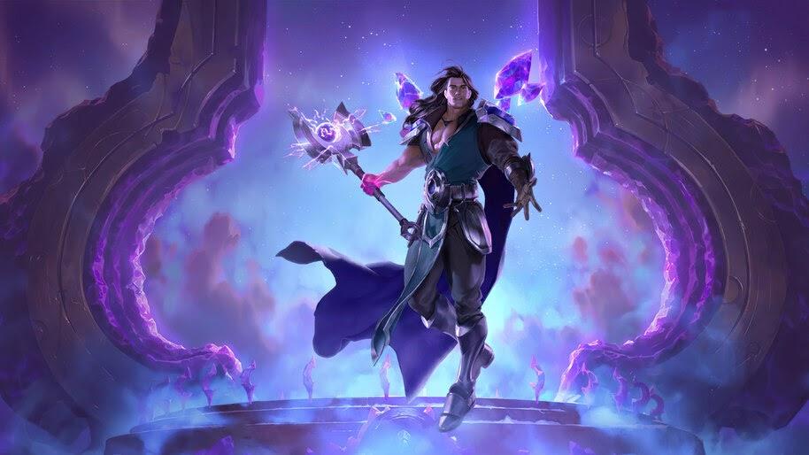 Taric, LoL, Targon, Legends of Runeterra, 4K, #5.2747