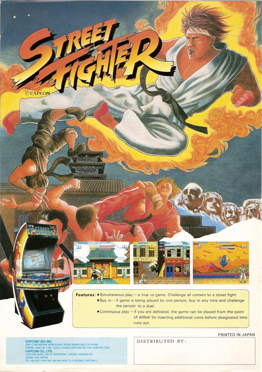 street fighter original poster