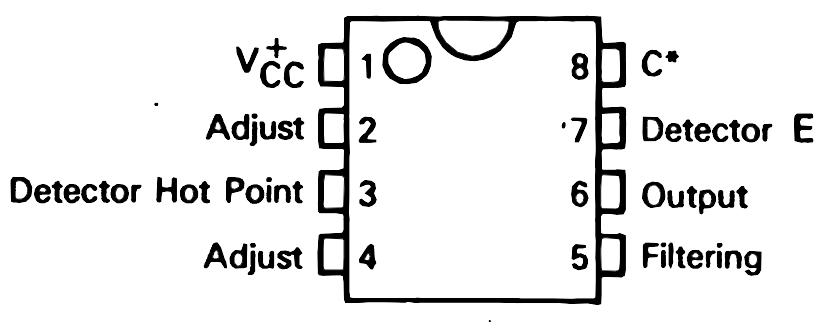 wiring material  metal detector circuit