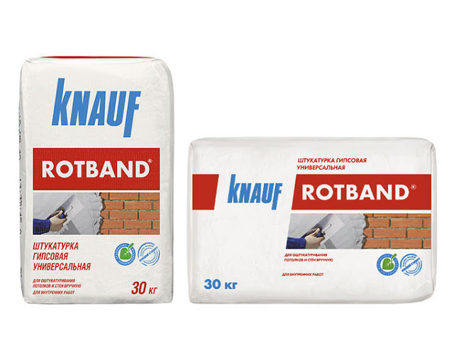 Укладка плитки на гипсовую штукатурку Ротбанд (Rotband)