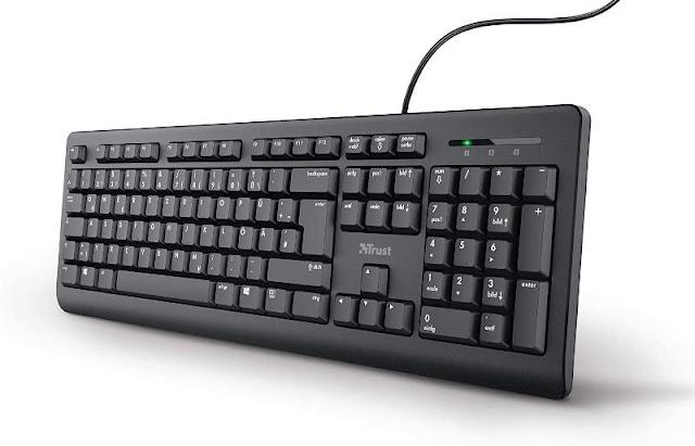 Trust Taro Wired Keyboard Manual PDF