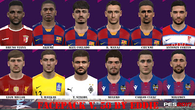 PES 2017 Facepack v50 by Eddie Facemaker