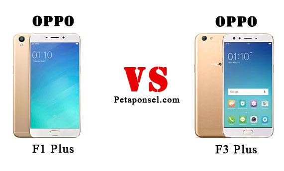 12 Perbandingan Oppo F1 Plus dan F3 Plus