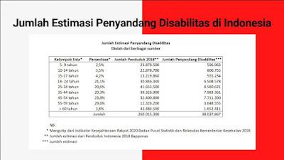 jumlah disabilitas