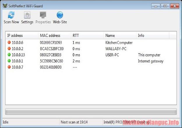 Download SoftPerfect WiFi Guard 2.1.2 Full Crack