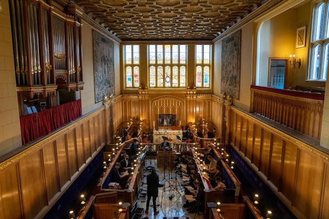 Pelham Humfrey: Sacred Choral Music - Recording session at HM Chapel Royal,  St James's Palace (Photo Delphian)