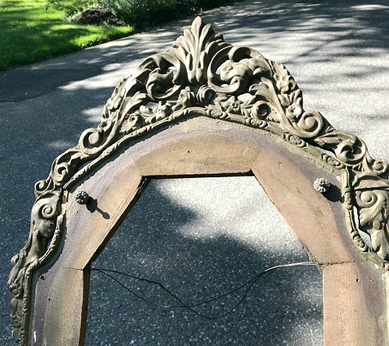 How to Turn an Antique Frame into a Chalkboard